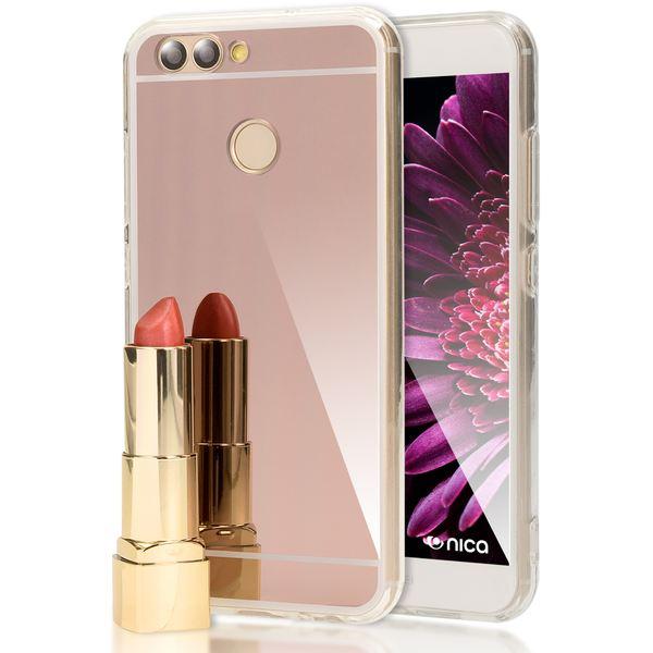 NALIA Spiegel Handyhülle für Huawei Nova 2, Ultra-Slim Mirror Case Cover Silikon-Hülle, Dünne Schutz-Hülle Backcover verspiegelt, Handy-Tasche Bumper Phone Etui für Huawei Nova 2 – Bild 10
