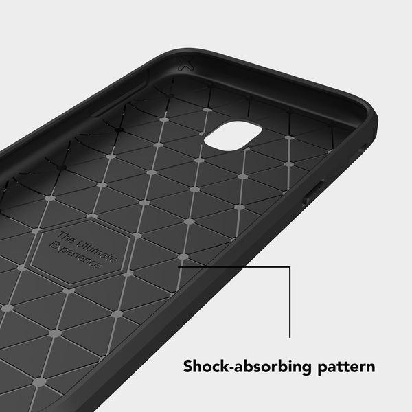 NALIA Handyhülle kompatibel mit Samsung Galaxy J5 2017 (EU-Modell), Carbon-Look Ultra-Slim Silikon Case Back-Cover, Dünne Schutzhülle Etui Handy-Tasche Schale Skin Bumper Smart-Phone Hülle - Schwarz – Bild 7