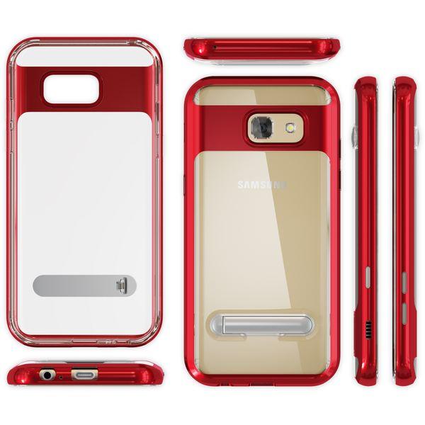 NALIA Ständer Hülle kompatibel mit Samsung Galaxy A5 2017, Silikon Handyhülle Case Transparent Dünn mit Standfunktion, Ultra-Slim Handy-Tasche Schutz-Hülle Back-Cover Etui Bumper – Bild 13