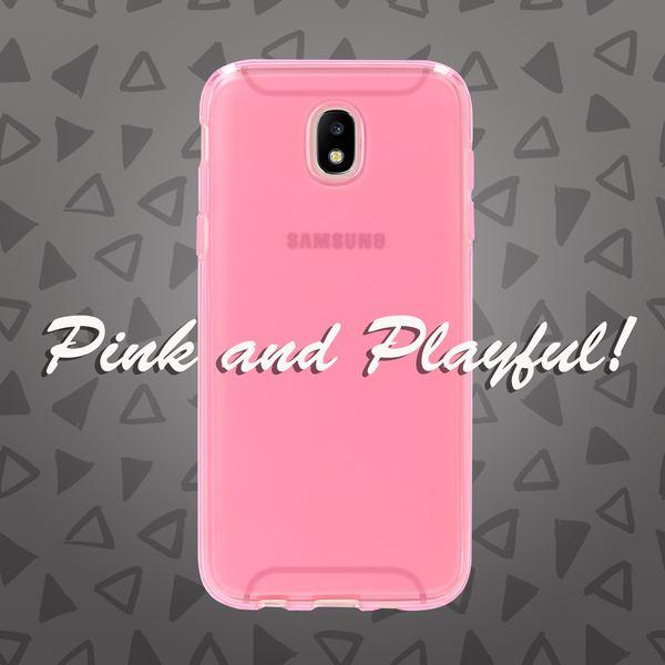 NALIA Handyhülle kompatibel mit Samsung Galaxy J3 2017 (EU-Modell), Ultra-Slim Silikon Case Back-Cover, Dünne Crystal Schutzhülle Etui Handy-Tasche Bumper, TPU Smart-Phone Gummi-Hülle – Bild 13