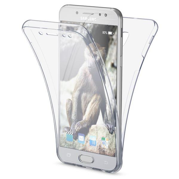 NALIA 360 Grad Hülle kompatibel mit Samsung Galaxy J5 2017 (EU-Modell), Full Cover Vorne & Hinten Doppel-Schutz Handyhülle, Dünnes Ganzkörper Silikon Case mit Display-Schutzhülle – Bild 2