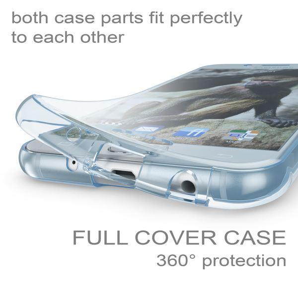 NALIA 360 Grad Hülle kompatibel mit Samsung Galaxy J3 2017 (EU-Modell), Full Cover Vorne & Hinten Doppel-Schutz Handyhülle, Dünnes Ganzkörper Silikon Case mit Display-Schutzhülle – Bild 14
