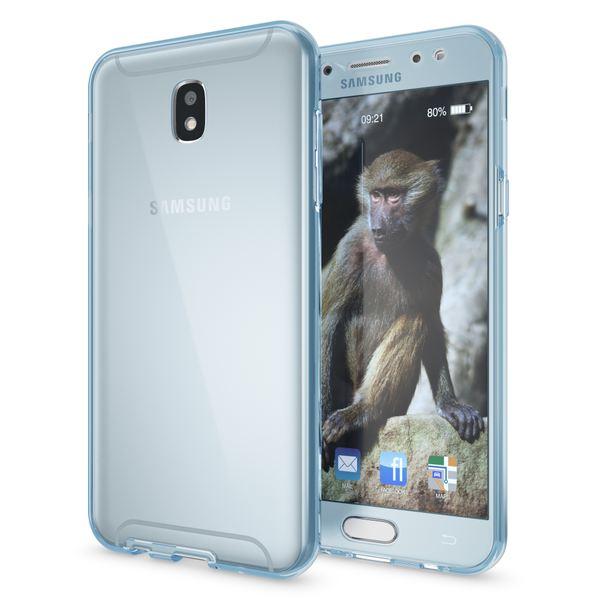 NALIA 360 Grad Hülle kompatibel mit Samsung Galaxy J7 2017 (EU-Modell), Full Cover Vorne & Hinten Doppel-Schutz Handyhülle, Dünnes Ganzkörper Silikon Case mit Display-Schutzhülle – Bild 17