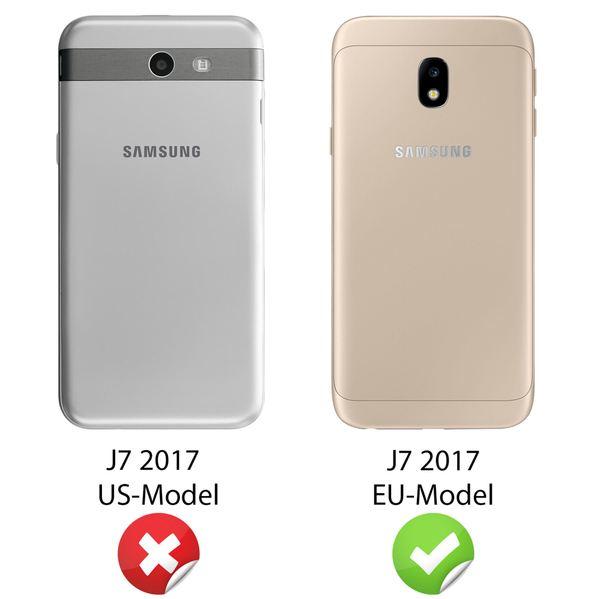 NALIA 360 Grad Hülle kompatibel mit Samsung Galaxy J7 2017 (EU-Modell), Full Cover Vorne & Hinten Doppel-Schutz Handyhülle, Dünnes Ganzkörper Silikon Case mit Display-Schutzhülle – Bild 12