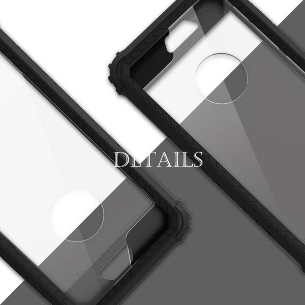 NALIA Rundum Handyhülle kompatibel mit iPhone 6 6S, Hard-Cover Vorne & Hinten Doppel-Schutz Hülle mit Silikon-Bumper, Dünnes Zweiteiliges Back-Case Handy-Tasche, Outdoor Skin Etui – Bild 5