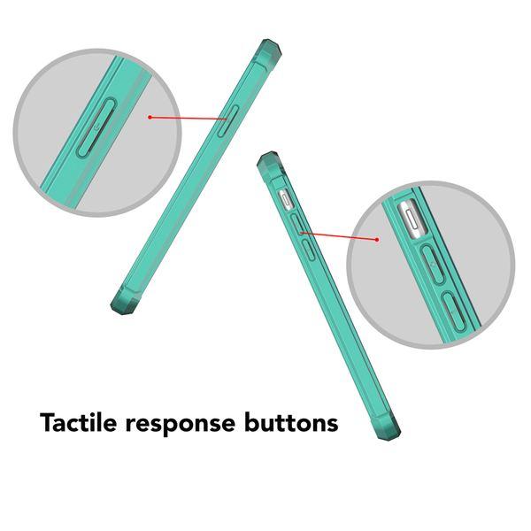 NALIA Hülle kompatibel mit iPhone X XS, Durchsichtiges Slim Hard-Case mit Transparenter Rückseite & Stoßfesten Bumper, Dünne Schutzhülle Handy-Tasche Smart-Phone Back-Cover – Bild 12