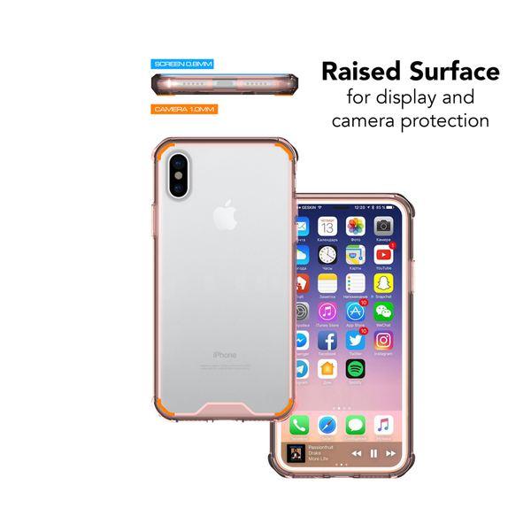 NALIA Hülle kompatibel mit iPhone X XS, Durchsichtiges Slim Hard-Case mit Transparenter Rückseite & Stoßfesten Bumper, Dünne Schutzhülle Handy-Tasche Smart-Phone Back-Cover – Bild 16