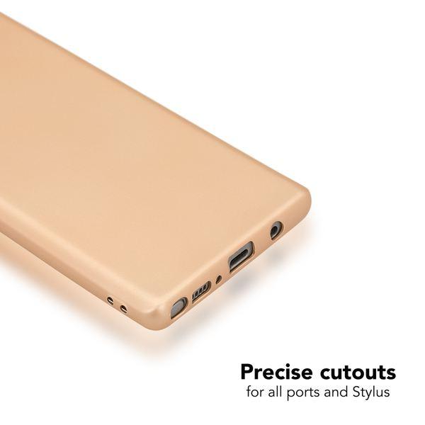 NALIA Handyhülle kompatibel mit Samsung Galaxy Note 8, Ultra-Slim Silikon Case Cover Dünn Matt, TPU Smart-Phone Schutzhülle Etui, Handy-Tasche Schale Back-Cover Bumper Gummi-Hülle – Bild 9