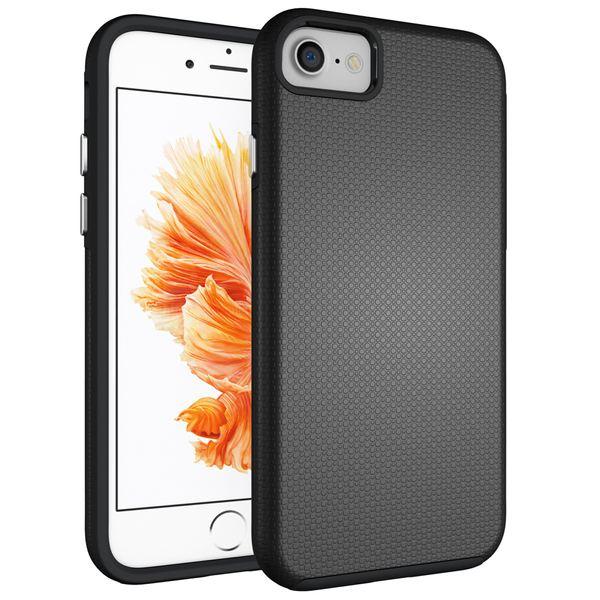 NALIA Handyhülle kompatibel mit iPhone 8 / 7, Slim Silikon Case Zweiteilig mit Hard-Cover, Dünne Sport Design Schutzhülle Etui, Smart-Phone Bumper 2 in 1 Back-Cover Handy-Tasche – Bild 2
