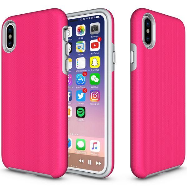 NALIA Handyhülle kompatibel mit iPhone X XS, Slim TPU Silikon Case Zweiteilig mit Hard-Cover, Dünne Sport Design Schutzhülle Etui Back-Cover, Smart-Phone Bumper Handy-Tasche – Bild 15