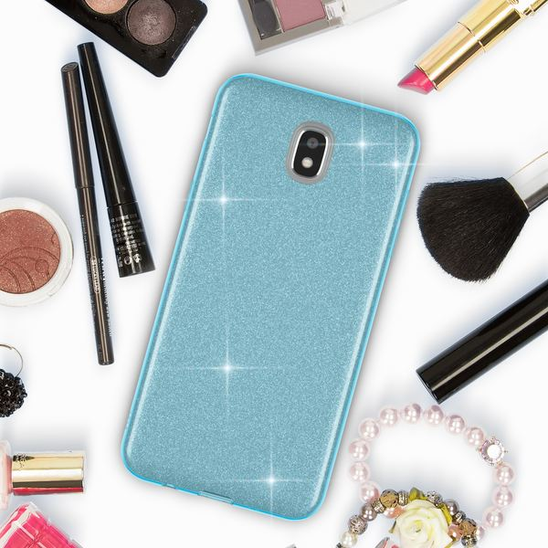 NALIA Handyhülle kompatibel mit Samsung Galaxy J3 2017 (EU-Modell), Glitzer Slim Silikon-Case Back-Cover Schutzhülle, Glitter Sparkle Bumper, Dünnes Bling Strass Smart-Phone Etui – Bild 23