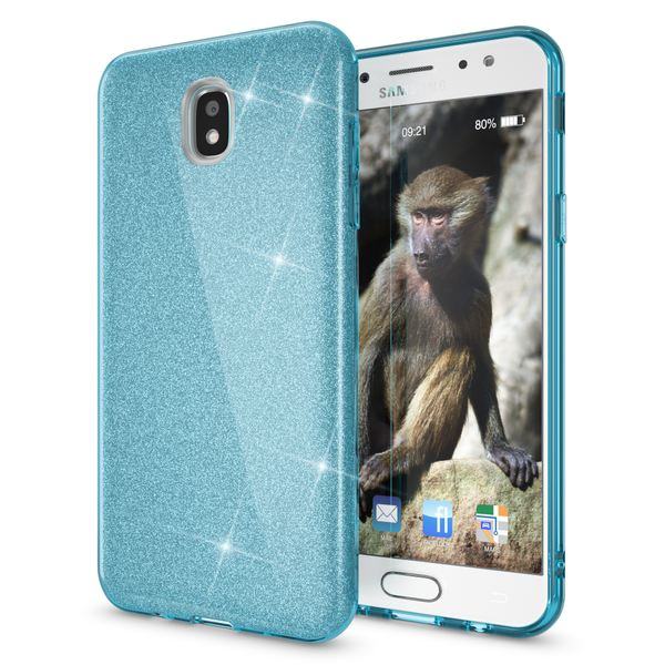 NALIA Handyhülle kompatibel mit Samsung Galaxy J5 2017 (EU-Modell), Glitzer Slim Silikon-Case Back-Cover Schutzhülle, Glitter Sparkle Bumper, Dünnes Bling Strass Smart-Phone Etui – Bild 22