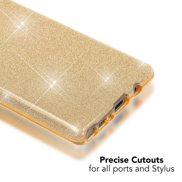NALIA Handyhülle kompatibel mit Samsung Galaxy Note 8, Glitzer Slim Silikon Hülle Case Backcover Cover TPU Schutzhülle, Glitter Sparkle Bumper, Dünnes Smartphone Bling Strass Etui – Bild 12