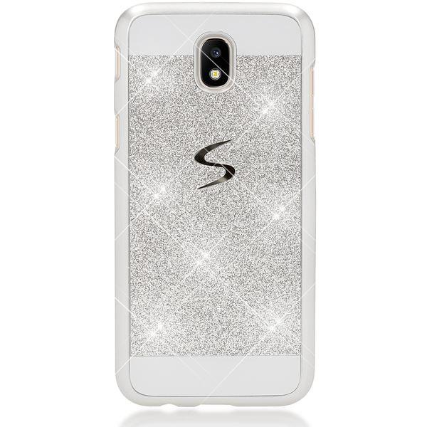 NALIA Handyhülle kompatibel mit Samsung Galaxy J3 2017 (EU-Modell), Glitzer Ultra-Slim Hülle Backcover Schutzhülle, Cover Case Glitter Handy-Tasche, Dünnes Bumper Strass Etui Skin – Bild 6