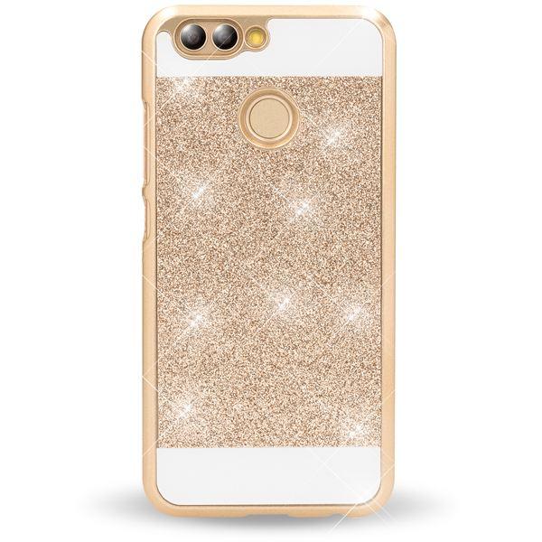 NALIA Handyhülle für Huawei Nova 2, Glitzer Slim Hard-Case Back-Cover Schutz, Handy-Tasche Glitter Sparkle, Dünnes Bling Strass Stoßfestes Etui Bumper für Nova-2 Smart-Phone – Bild 5