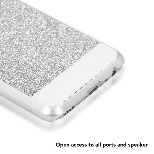 NALIA Handyhülle für Huawei Nova 2, Glitzer Slim Hard-Case Back-Cover Schutz, Handy-Tasche Glitter Sparkle, Dünnes Bling Strass Stoßfestes Etui Bumper für Nova-2 Smart-Phone – Bild 8