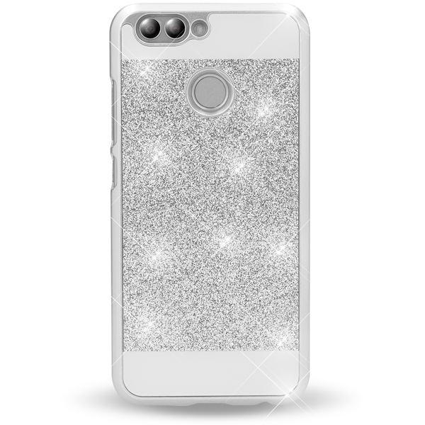 NALIA Handyhülle für Huawei Nova 2, Glitzer Slim Hard-Case Back-Cover Schutz, Handy-Tasche Glitter Sparkle, Dünnes Bling Strass Stoßfestes Etui Bumper für Nova-2 Smart-Phone – Bild 9
