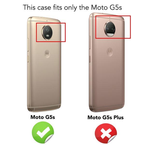 NALIA Schutzglas kompatibel mit Motorola Moto G5S, Displayschutz Hüllen-Kompatibel 9H gehärtete Glas-Schutzfolie Handy-Folie Schutz-Film, Smart-Phone HD Screen Protector Tempered Glass - Transparent – Bild 4