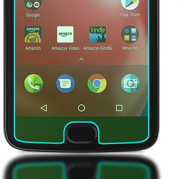 NALIA Schutzglas für MotorolaMoto E4, 2.5D Displayschutz Hüllen-Kompatibel, 9H gehärtete Glas-Schutzfolie Handy-Folie Schutz-Film, Smart-Phone HD Screen Protector Tempered Glass - Transparent – Bild 5