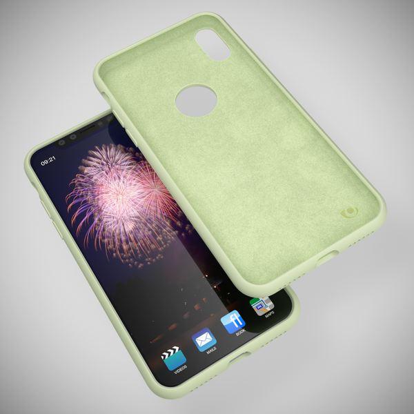 NALIA Liquid Silikon Hülle kompatibel mit iPhone X, Ultra-Slim Handyhülle Hard-Case mit Silk Touch & Microfaser, Dünnes Cover Schutzhülle Skin, Etui Handy-Tasche Backcover Bumper – Bild 15