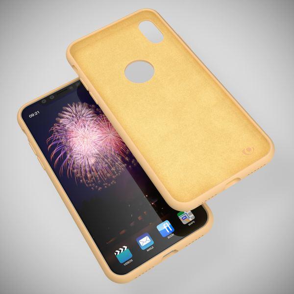 NALIA Liquid Silikon Hülle kompatibel mit iPhone X, Ultra-Slim Handyhülle Hard-Case mit Silk Touch & Microfaser, Dünnes Cover Schutzhülle Skin, Etui Handy-Tasche Backcover Bumper – Bild 21