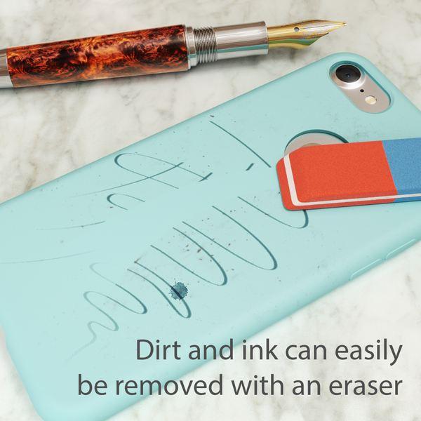 NALIA Liquid Silikon Hülle für iPhone 7, Ultra-Slim Handyhülle Hard-Case mit Silk Touch & Microfaser, Dünnes Cover Schutz Skin, Etui Handy-Tasche Back Bumper für Apple i-Phone 7  – Bild 16