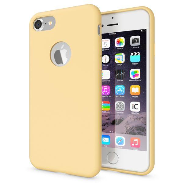 NALIA Liquid Silikon Hülle für iPhone 7, Ultra-Slim Handyhülle Hard-Case mit Silk Touch & Microfaser, Dünnes Cover Schutz Skin, Etui Handy-Tasche Back Bumper für Apple i-Phone 7  – Bild 20