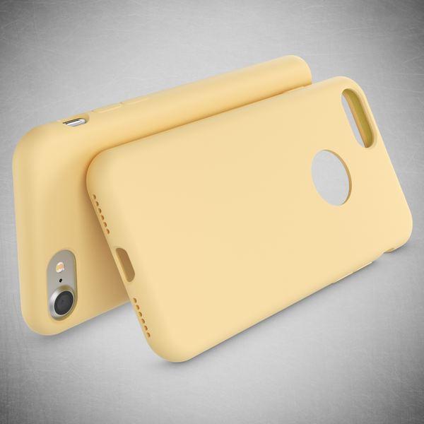 NALIA Liquid Silikon Hülle für iPhone 7, Ultra-Slim Handyhülle Hard-Case mit Silk Touch & Microfaser, Dünnes Cover Schutz Skin, Etui Handy-Tasche Back Bumper für Apple i-Phone 7  – Bild 25