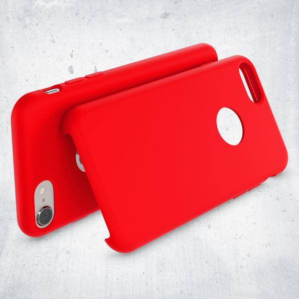 iPhone 8 Liquid Silikon Hülle von NALIA, Ultra-Slim Handyhülle Hard-Case mit Silk Touch & Microfaser, Dünnes Cover Schutz Skin, Etui Handy-Tasche Back Bumper für Apple i-Phone 8  – Bild 10
