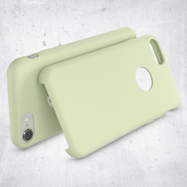 iPhone 8 Liquid Silikon Hülle von NALIA, Ultra-Slim Handyhülle Hard-Case mit Silk Touch & Microfaser, Dünnes Cover Schutz Skin, Etui Handy-Tasche Back Bumper für Apple i-Phone 8  – Bild 15