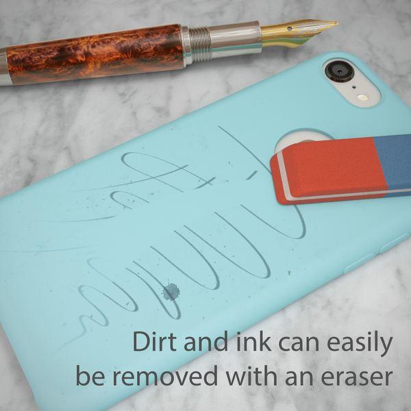 iPhone 8 Liquid Silikon Hülle von NALIA, Ultra-Slim Handyhülle Hard-Case mit Silk Touch & Microfaser, Dünnes Cover Schutz Skin, Etui Handy-Tasche Back Bumper für Apple i-Phone 8  – Bild 14