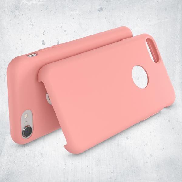 iPhone 8 Liquid Silikon Hülle von NALIA, Ultra-Slim Handyhülle Hard-Case mit Silk Touch & Microfaser, Dünnes Cover Schutz Skin, Etui Handy-Tasche Back Bumper für Apple i-Phone 8  – Bild 25