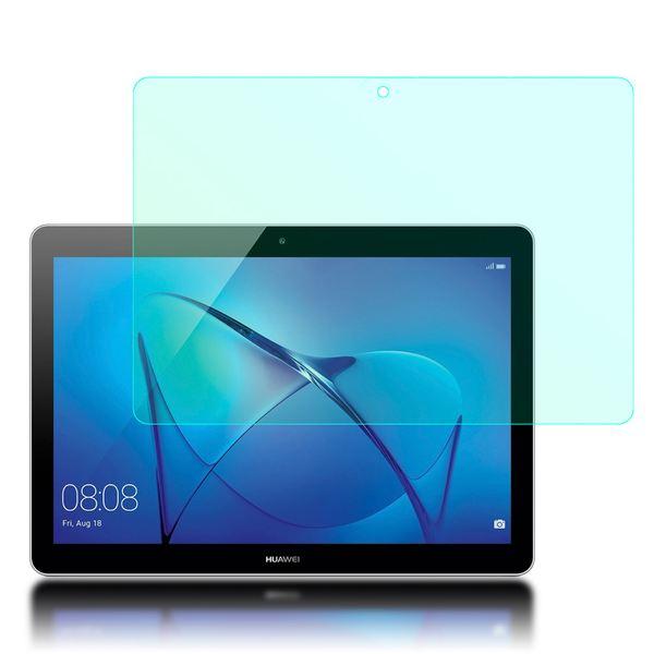 NALIA Schutzglas kompatibel mit Huawei MediaPad T3, Full-Cover Displayschutz Tablet-Folie, 9H Härte Glas-Schutzfolie Bildschirm-Abdeckung, Schutz-Film HD Screen Protector Tempered Glass - Transparent – Bild 2