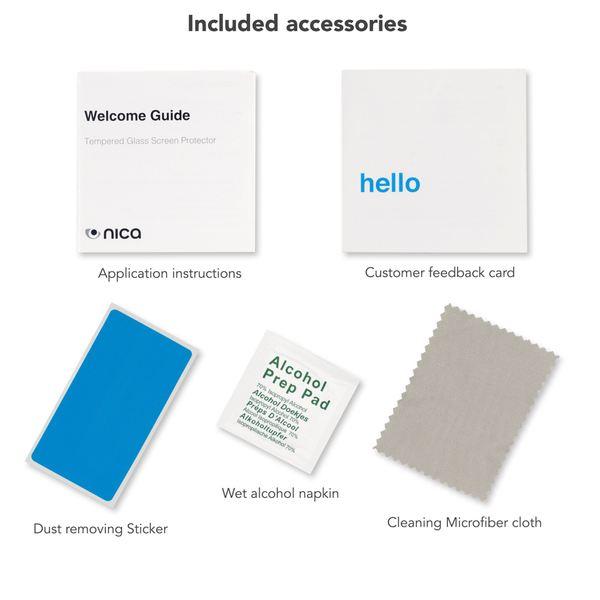 NALIA Schutzglas kompatibel mit Huawei MediaPad T3, Full-Cover Displayschutz Tablet-Folie, 9H Härte Glas-Schutzfolie Bildschirm-Abdeckung, Schutz-Film HD Screen Protector Tempered Glass - Transparent – Bild 6