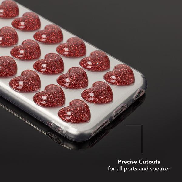 NALIA 3D Herz Hülle kompatibel mit iPhone 6 / 6S, Silikon Glitzer Handyhülle Case Schutzhülle Gummi, Soft Ultra-Slim Cover Etui Dünne Handy-Tasche, Backcover Skin Bumper – Bild 21