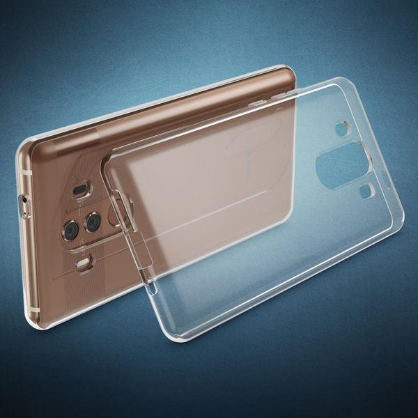 NALIA Handyhülle kompatibel mit Huawei Mate 10 Pro, Ultra-Slim TPU Silikon Case Cover Hülle Crystal Clear Schutzhülle Dünn Durchsichtig, Backcover Etui Handy-Tasche Transparent, Phone Schutz Bumper – Bild 2