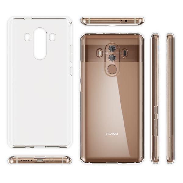 NALIA Handyhülle kompatibel mit Huawei Mate 10 Pro, Ultra-Slim TPU Silikon Case Cover Hülle Crystal Clear Schutzhülle Dünn Durchsichtig, Backcover Etui Handy-Tasche Transparent, Phone Schutz Bumper – Bild 5