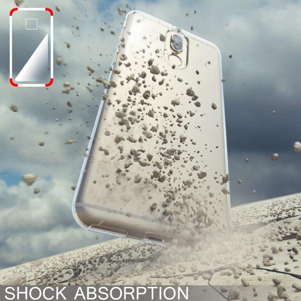 NALIA Handyhülle für Huawei Mate 10 Lite, Soft Slim TPU Silikon Case Cover Crystal Clear Schutzhülle Dünn Durchsichtig, Back Etui Handy-Tasche Transparent, Phone Schutz Bumper für Mate-10 Lite – Bild 7