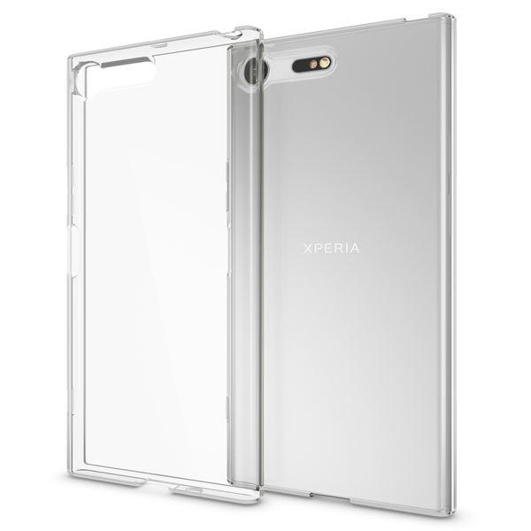 NALIA Handyhülle kompatibel mit Sony Xperia XZ Premium, Ultra-Slim TPU Silikon Case Cover Crystal Clear Schutzhülle Dünn Durchsichtig, Backcover Hülle Etui Handy-Tasche Transparent, Phone Bumper – Bild 1