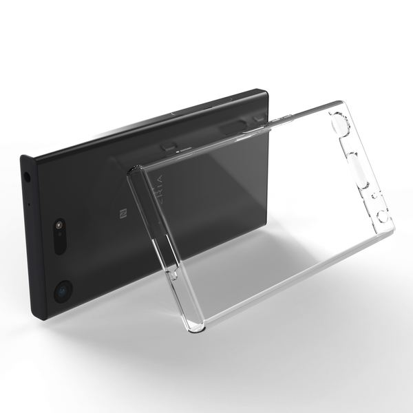 NALIA Handyhülle kompatibel mit Sony Xperia XZ1, Ultra-Slim TPU Silikon Case Cover Crystal Clear Schutzhülle Dünn Durchsichtig, Backcover Hülle Etui Handy-Tasche Transparent, Phone Bumper – Bild 7