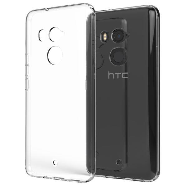 NALIA Handyhülle kompatibel mit HTC U11 Plus, Ultra-Slim TPU Silikon Case Cover Crystal Clear Schutzhülle Dünn Durchsichtig, Etui Hülle Handy-Tasche Backcover Transparent, Smartphone Bumper – Bild 1