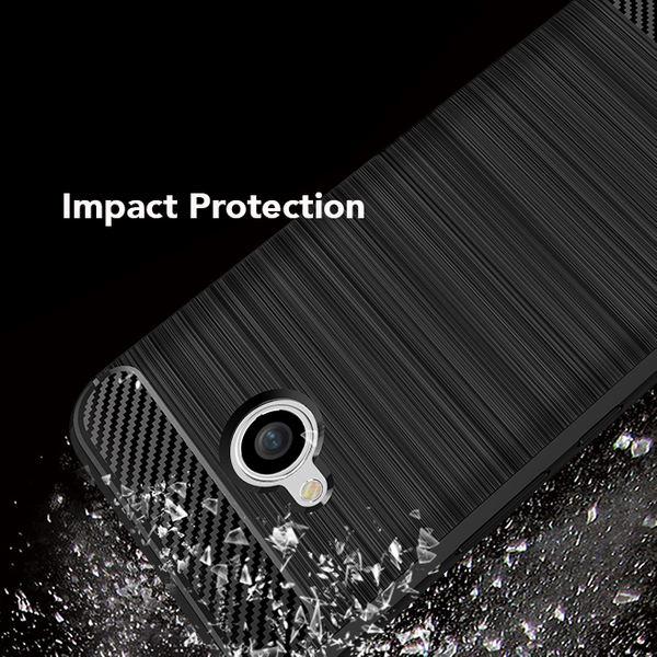 HTC U11 Life Hülle Handyhülle von NALIA, Ultra Slim Silikon Case Cover, Dünne Crystal Phone Schutzhülle, Etui Handy-Tasche Back-Cover Bumper, TPU Gummihülle für HTC U11-Life Smartphone - Schwarz – Bild 3
