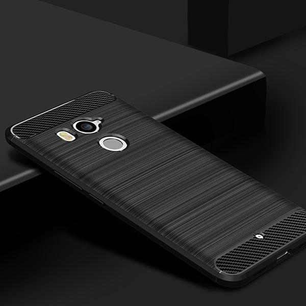 NALIA Handyhülle kompatibel mit HTC U11 Plus, Ultra-Slim Silikon Case Cover, Dünne Crystal Phone Schutzhülle, Etui Hülle Handy-Tasche Backcover Bumper, TPU Smartphone Gummihülle - Schwarz – Bild 2