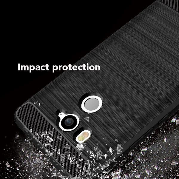 NALIA Handyhülle kompatibel mit HTC U11 Plus, Ultra-Slim Silikon Case Cover, Dünne Crystal Phone Schutzhülle, Etui Hülle Handy-Tasche Backcover Bumper, TPU Smartphone Gummihülle - Schwarz – Bild 3