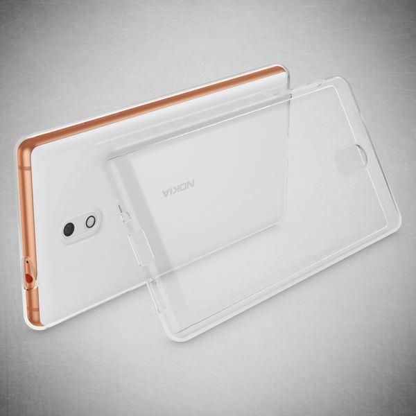 NALIA Handyhülle kompatibel mit Nokia 3, Ultra-Slim TPU Silikon Case Cover Crystal Clear Schutzhülle Dünn Durchsichtig, Etui Hülle Handy-Tasche Backcover Transparent, Smartphone Schutz Bumper – Bild 7