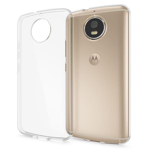 NALIA Handyhülle für Motorola Moto G5S, Soft Slim TPU Silikon Case Cover Crystal Clear Schutz-hülle Dünn Durchsichtig, Back Etui Handy-Tasche Transparent, Smart-Phone Bumper für Moto-G5S – Bild 1