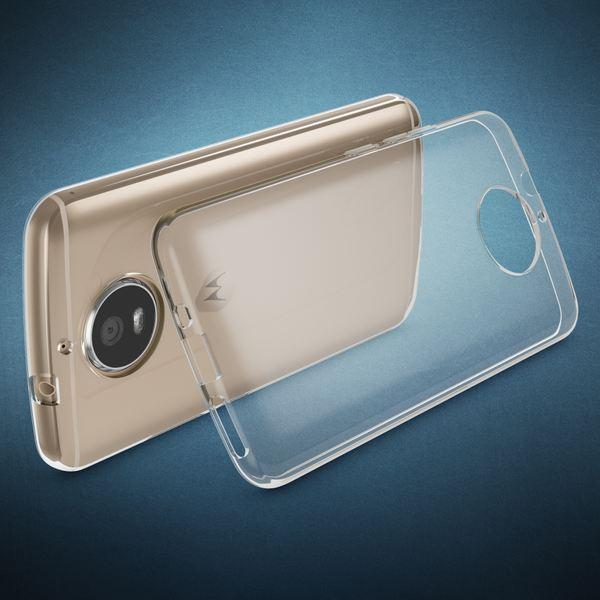 NALIA Handyhülle für Motorola Moto G5S, Soft Slim TPU Silikon Case Cover Crystal Clear Schutz-hülle Dünn Durchsichtig, Back Etui Handy-Tasche Transparent, Smart-Phone Bumper für Moto-G5S – Bild 2