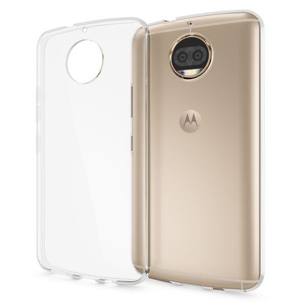 NALIA Handyhülle kompatibel mit Motorola Moto G5S Plus, Ultra-Slim TPU Silikon Case Cover Crystal Clear Schutzhülle Dünn Durchsichtig, Backcover Etui Handy-Tasche Hülle Transparent, Smartphone Bumper – Bild 1