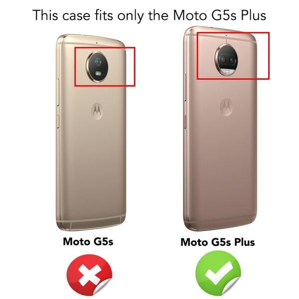 NALIA Handyhülle kompatibel mit Motorola Moto G5S Plus, Ultra-Slim TPU Silikon Case Cover Crystal Clear Schutzhülle Dünn Durchsichtig, Backcover Etui Handy-Tasche Hülle Transparent, Smartphone Bumper – Bild 4