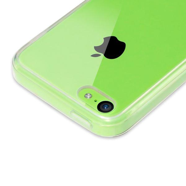 NALIA Handyhülle iPhone 5C, Soft Slim Silikon Case Cover Crystal Clear Schutzhülle Dünn Durchsichtig, Etui Handy-Tasche Backcover Transparent Skin, Phone Schutz Bumper für Apple iPhone-5C – Bild 5